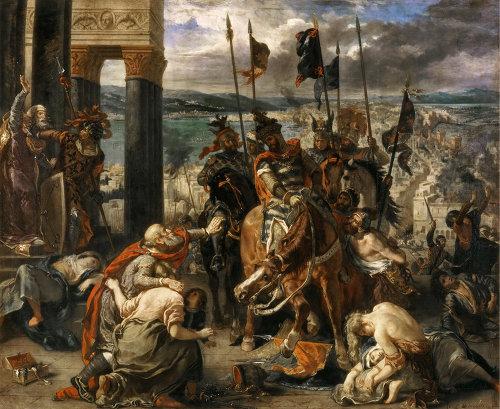 4차 십자군 콘스탄티노플 점령