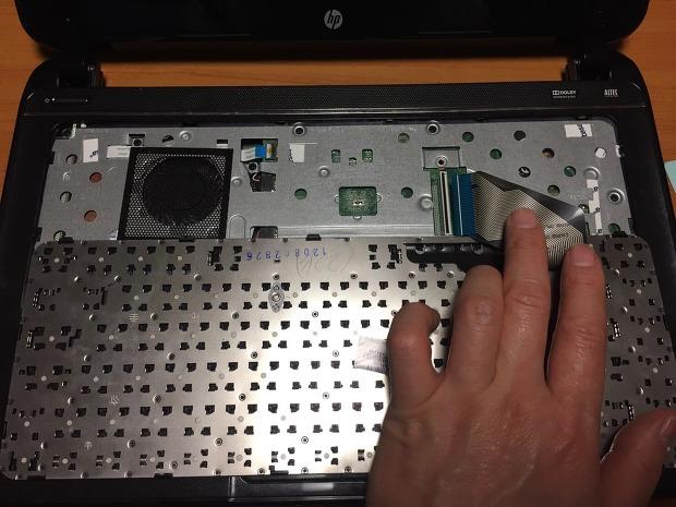 HP 노트북 SSD, 메모리 교체 분해 - RT3290