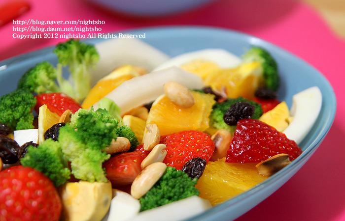 상큼한 다이어트 과일샐러드 & 오렌지 허니드레싱