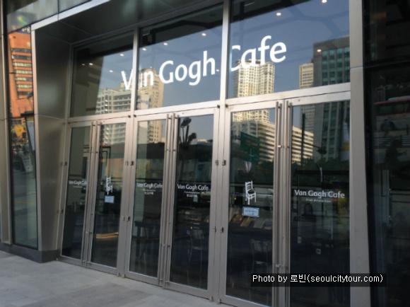 [잠실]고흐의 손길이 느껴지는 _  반 고흐 카페 (Van Gogh Cafe)