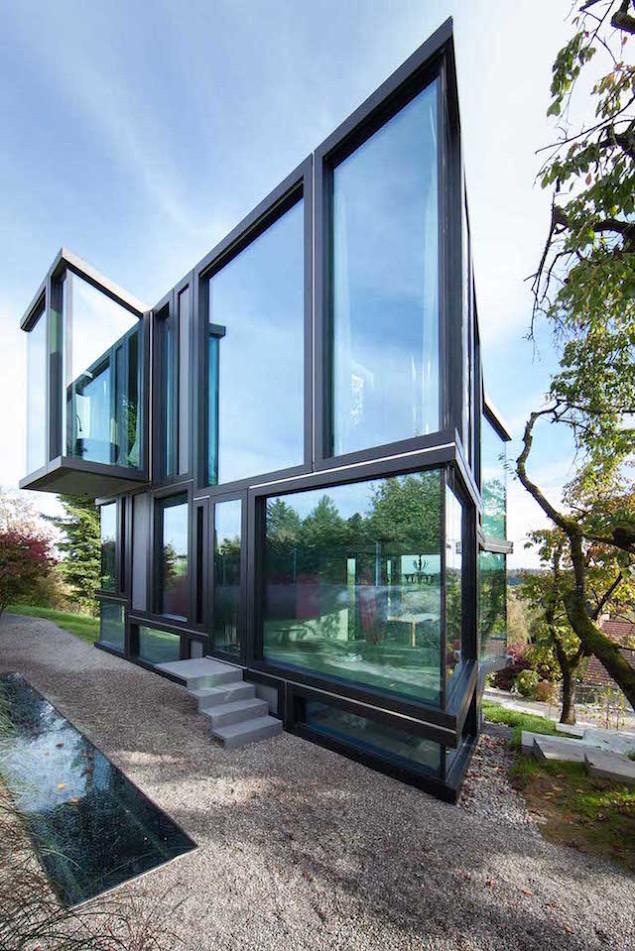 Engi 39 s designall gorgeous angular for Modern house zurich