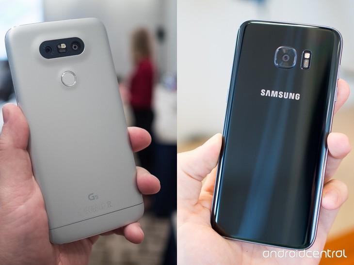 Samsung Galaxy S6 Edge vs Galaxy S7 Edge comparison