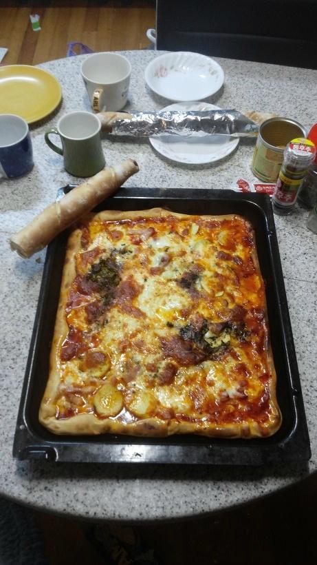 나의 피자 정착기