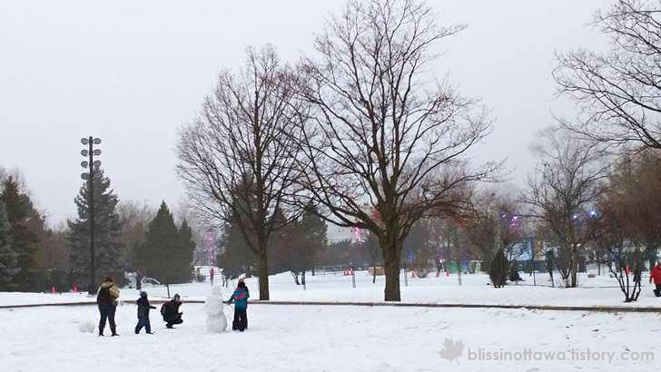 몬트리올 겨울 축제 기간 입니다