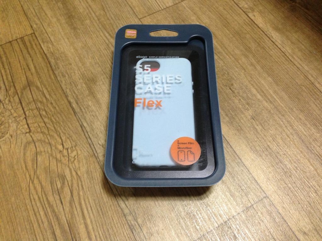파스텔 컬러의 엘라고 아이폰5 S5 Series Case Flex 개봉기