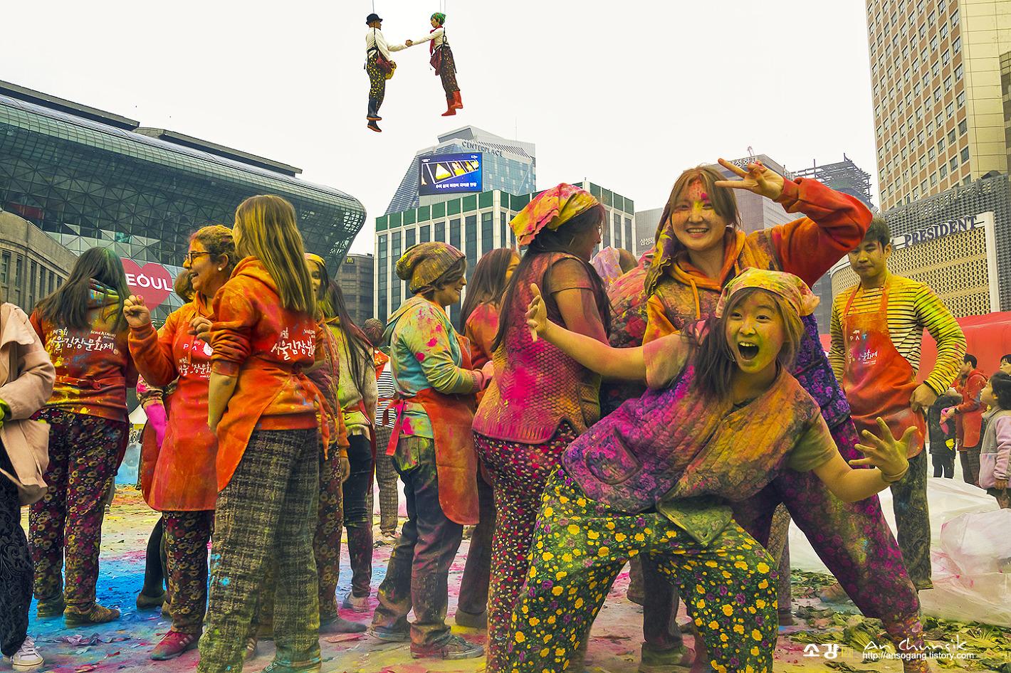 축제의 기쁨과 열광