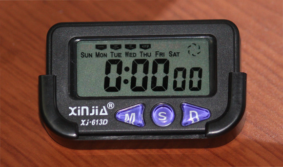 탁상용 전자시계