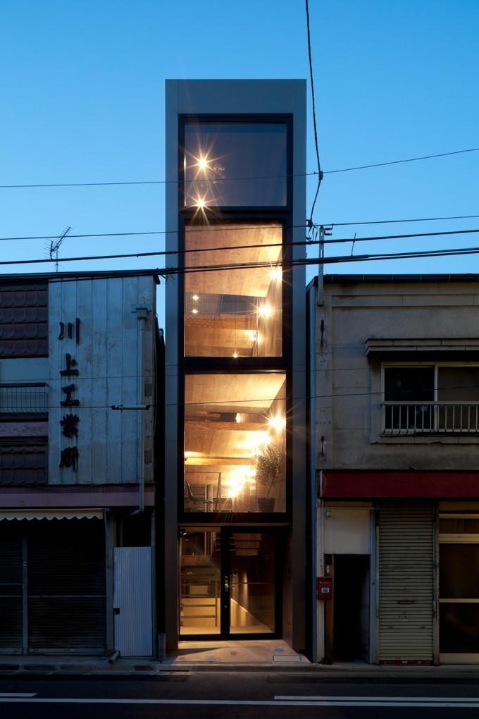 *도심 협소주택 [ YUUA architects ] narrow 1.8m house