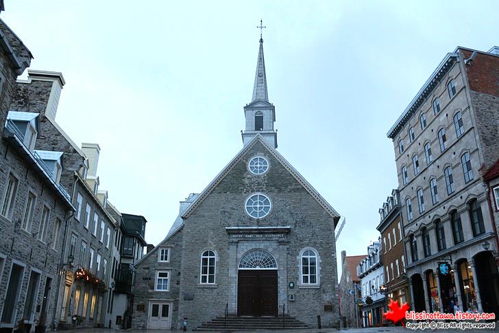 캐나다 동부 퀘벡시티 여행 승리의 노르트담 교회