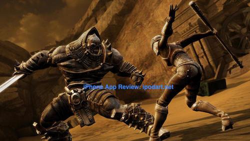 Infinity Blade III 아이폰 아이패드 추천 액션 게임