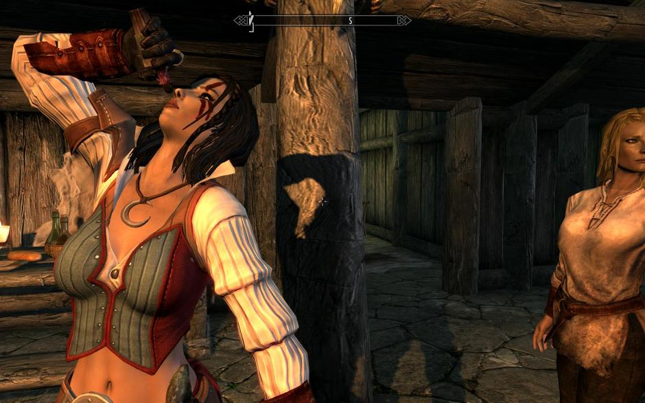 Eating And Drinking Animations Skyrim