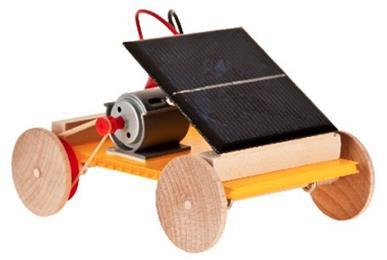 Solar panel for Mitsuba motor solar car