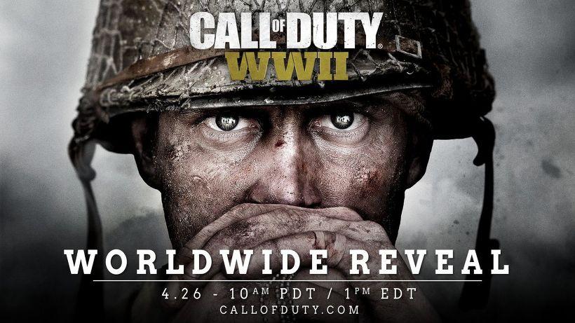 Call of Duty WWII(콜 오브 듀티 월드 워 II) 라이브스트림 예정 시간 발표