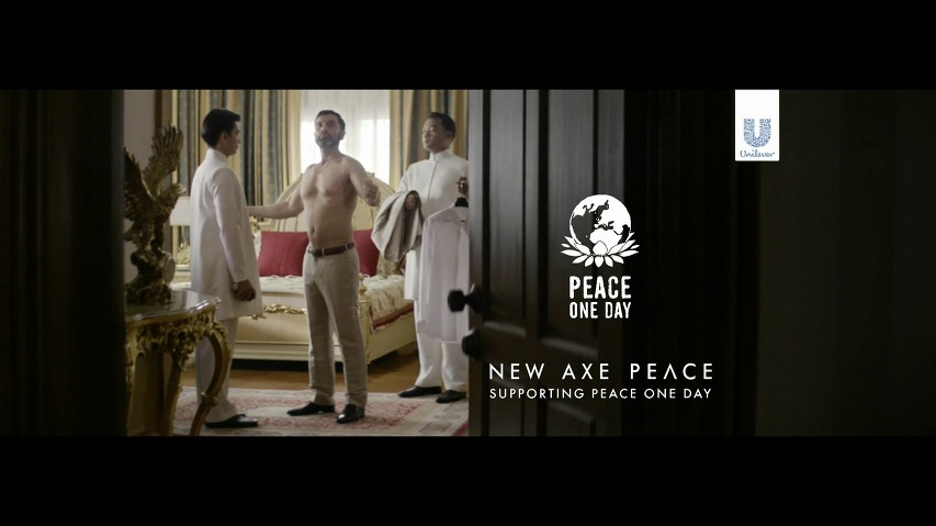 AXE PEACE(액스 피스)의 세계 평화의 날(Peace One Day)광고 - Make Love, Not War [한글자막]