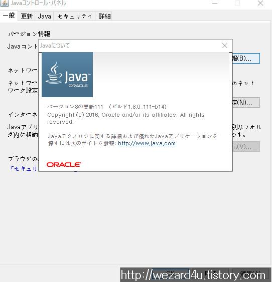Java SE 8 Update 111 보안 업데이트