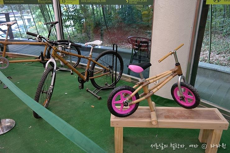 담양 죽공예 제품, 대나무 자전거,