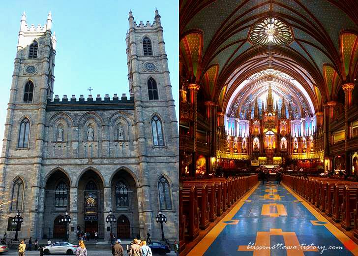 몬트리올 노트르담 대성당입니다