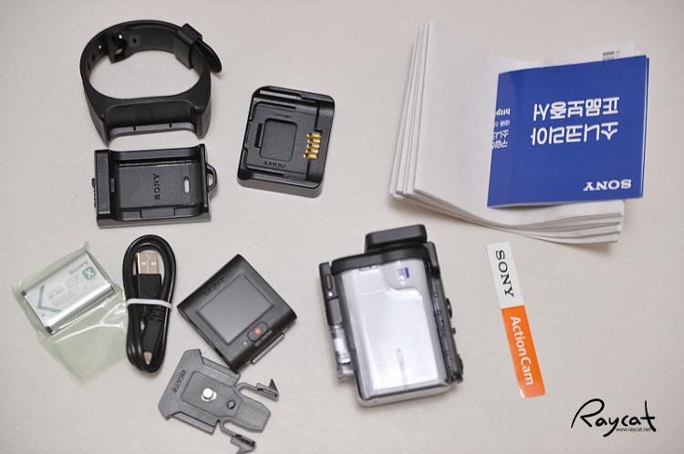 소니 액션캠 FDR-X3000 구성품