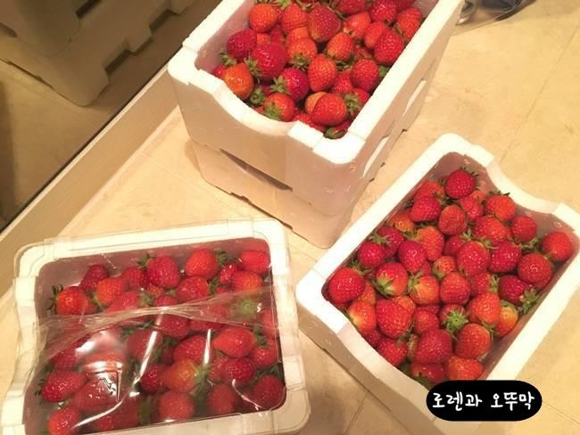 딸기청 달콤하고 맛있게 만드는 방법1