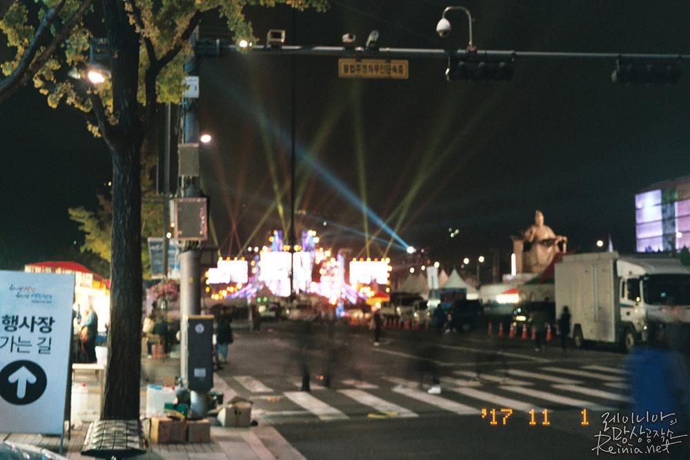 광화문, 후지C200 필름으로 촬영