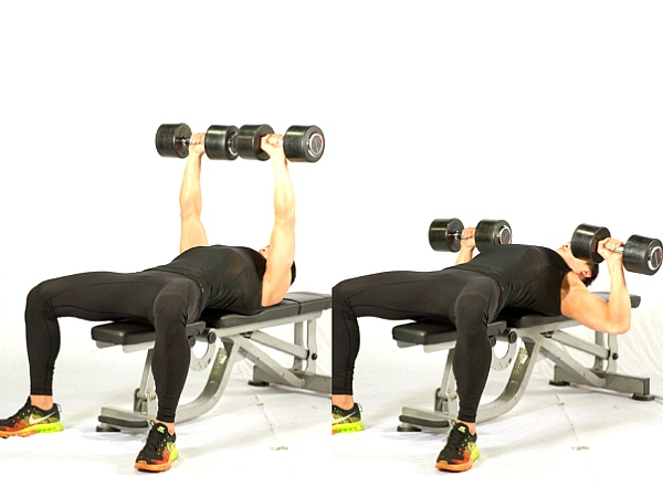 덤벨을 이용한 가슴 운동 4가지 (덤벨 프레스 / 덤벨 플라이)