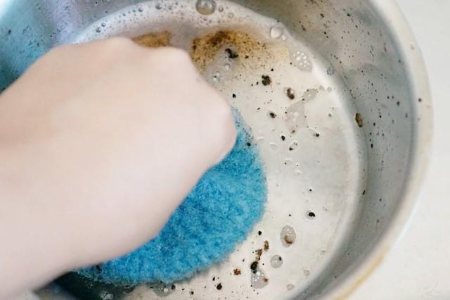 스텐 탄 냄비 쉽게 닦는법 설거지