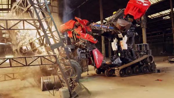 거대 로봇 결투 동영상 공개 - 메가봇 대 구라타스