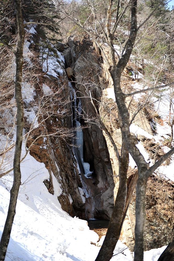 2012년4월 설악산 흘림골