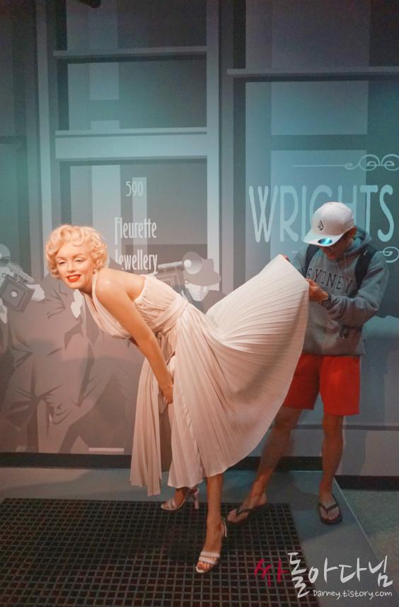 시드니 마담 투소(Madame Tussauds) - 마릴린 먼로