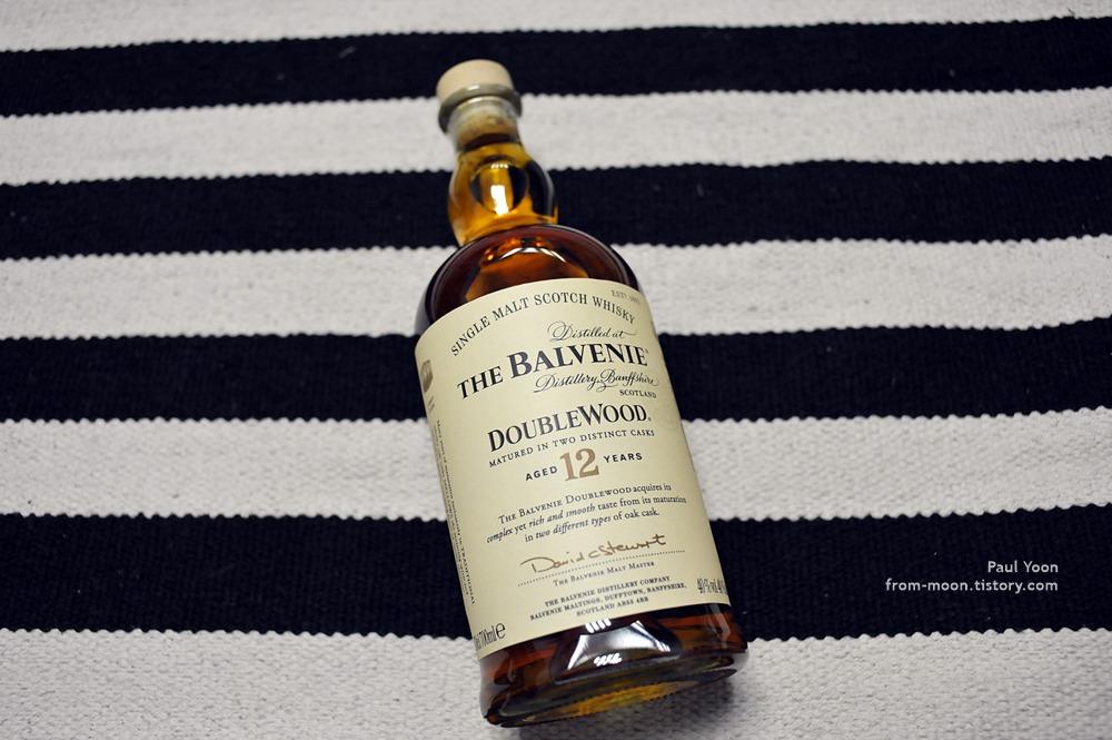 내 취향인 양주 스코틀랜드 민속주 ~ 싱글 몰트 스카치 위스키 발베니 12년산 [The Balvenie Double Wood 12 years old / Single Malt Scotch Whisky]
