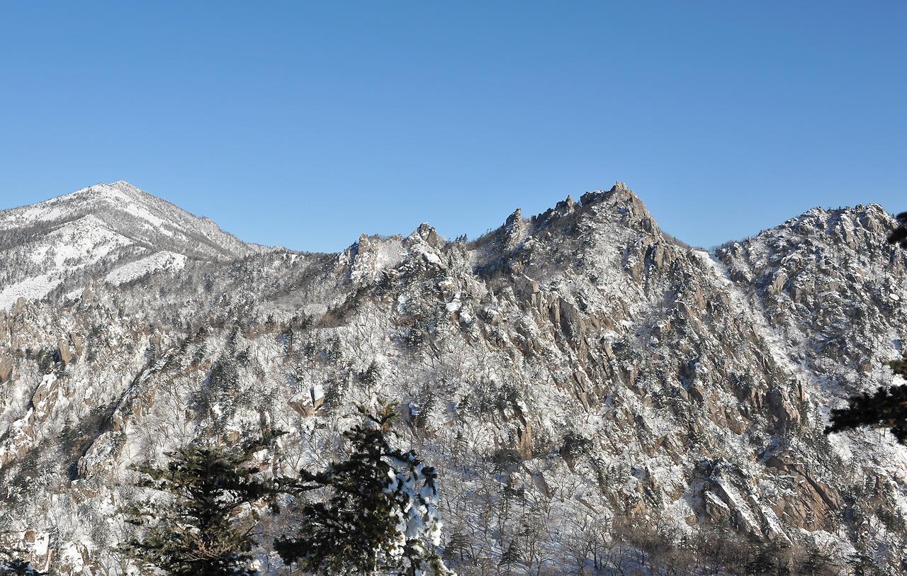 2012년1월 설악산 한계령~대청봉~천불동