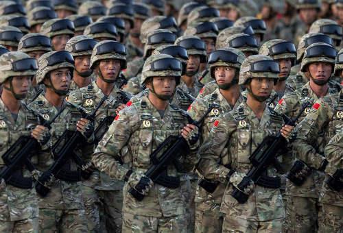 중국의 사례로 보는 경제력과 군사력의 연관성