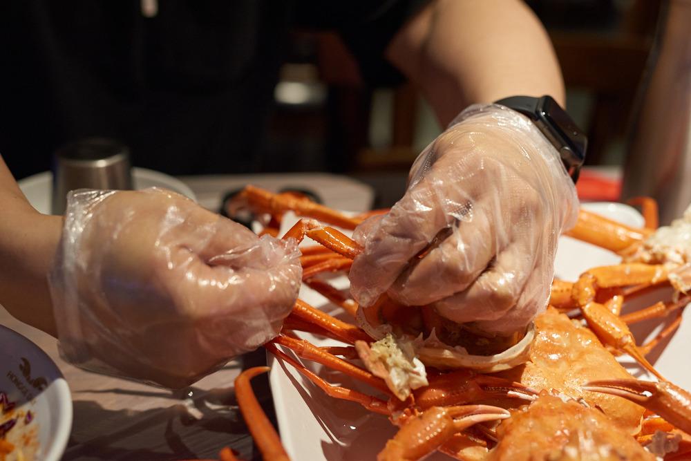 홍게데이 광안점 홍게 먹는법 14