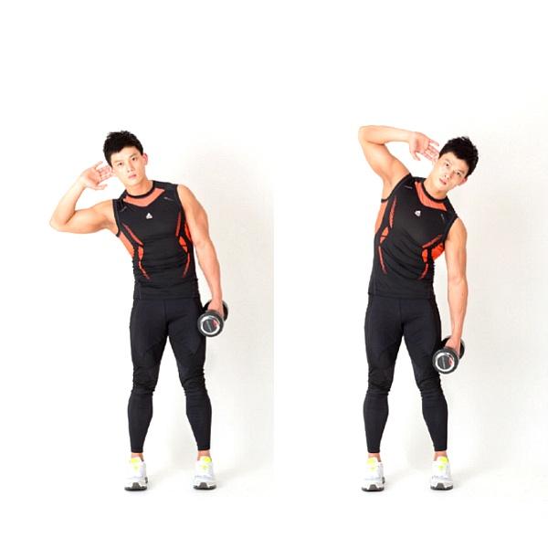 옆구리 운동, 잘록한 허리 라인을 위한 운동 3가지