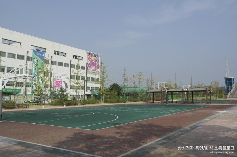 치동천 농구장 농구코트