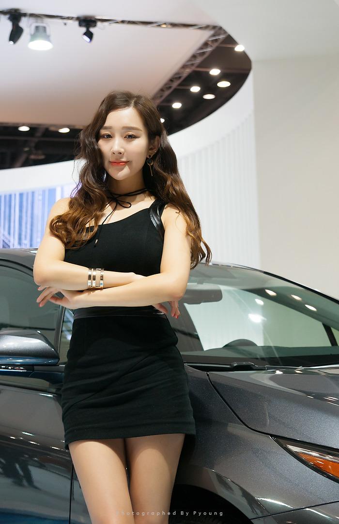 2017 서울 모터쇼 모델 한지오