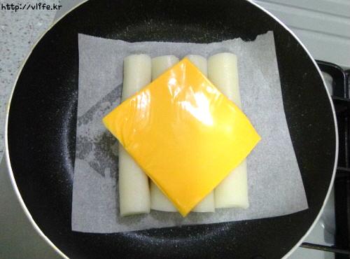 가래떡 치즈 구이