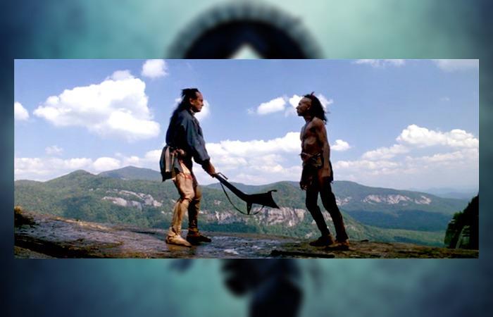 사진: 마지막 모히칸족인 웅카스가 죽은 후 복수를 하는 아버지 칭가지국의 모습. 상대인 마구아는 악의 집념으로 묘사된다. 라스트모히칸 결말의 응징은 불쌍하게 죽어간 영혼들에 대한 복수다. [영화 라스트모히칸 결말]