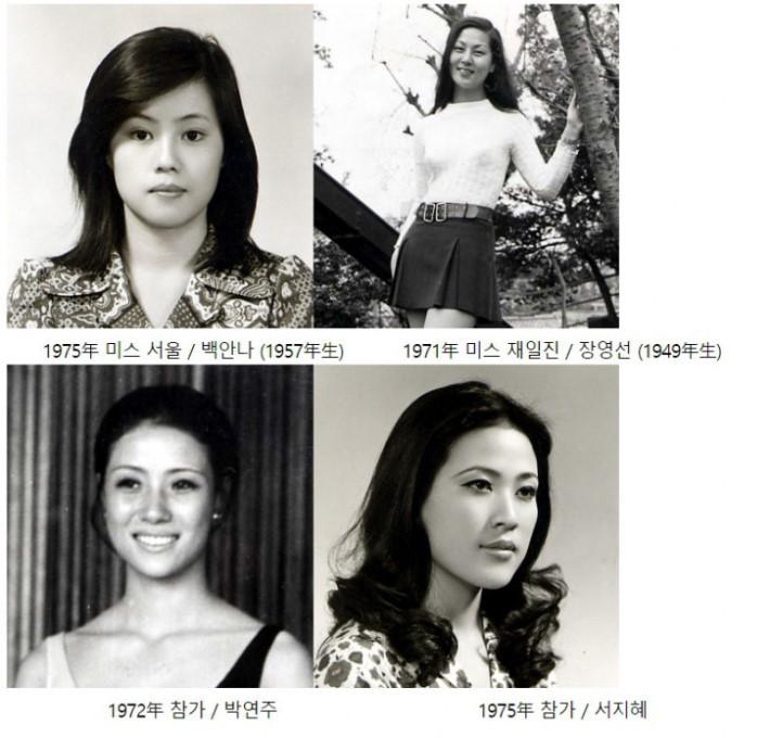 1970년대 한국 미스코리아
