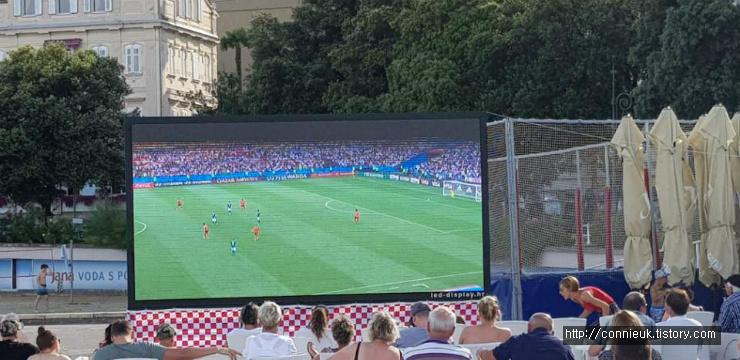 크로아티아에서 본 월드컵, 독일인 반응