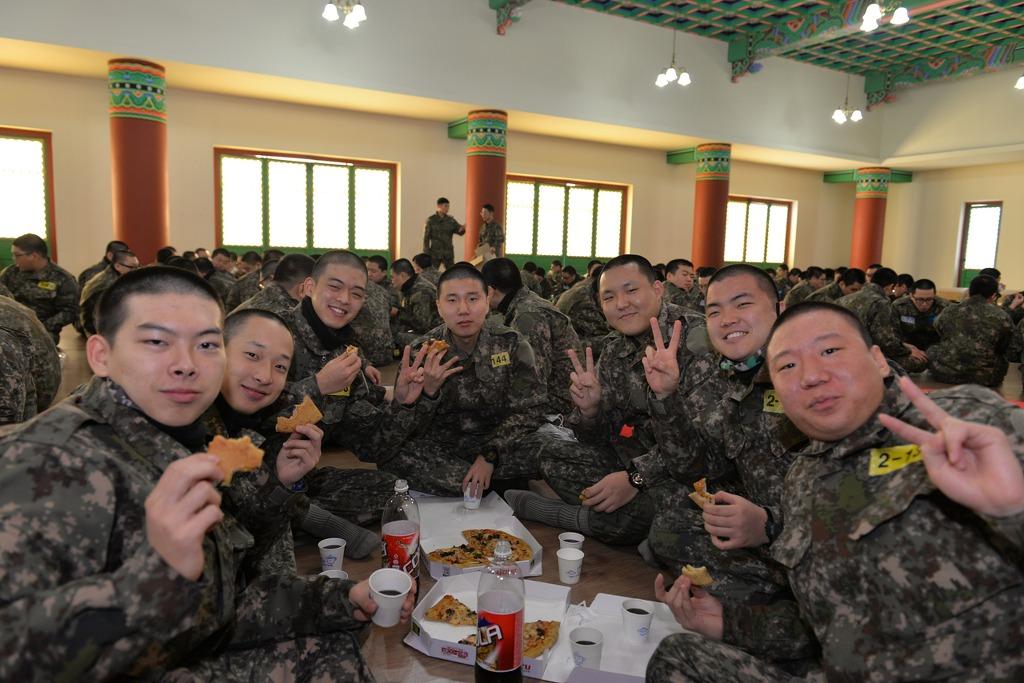 태고종 전북종무원 35보병사단 신년법회 봉행