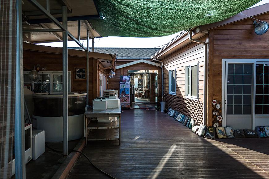 계림 새우나라 식당 전경