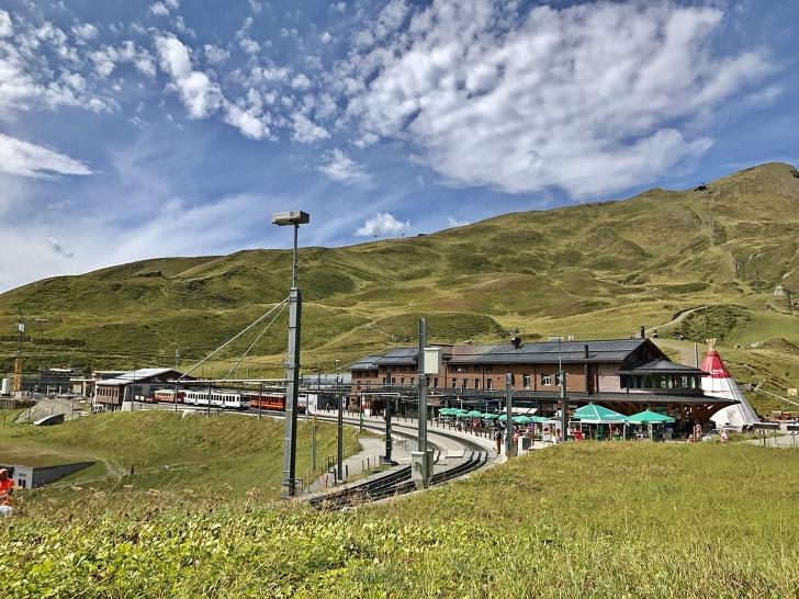 [융프라우여행] 클라인 샤이덱(Kleine Scheidegg) → 그린덴발트(Grindelwald) 하산하기