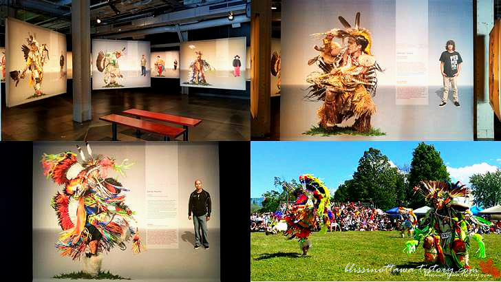 원주민 전통춤입니다