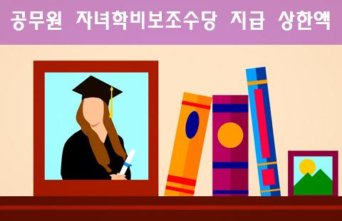 공무원 자녀학비보조수당 지급 상한액
