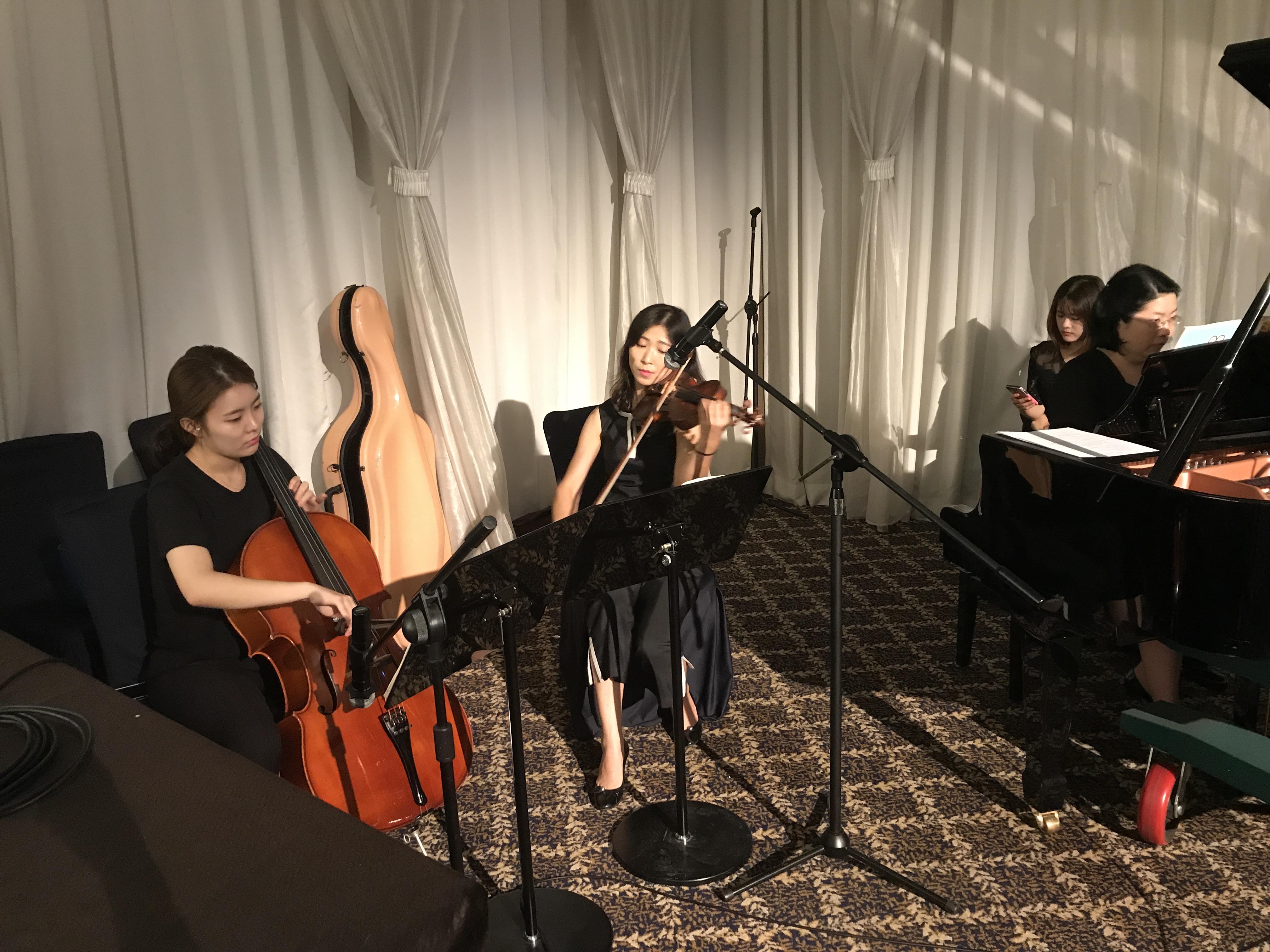 [이메이드 행사사진] 호텔 전문 연주팀 (2017.09.09)