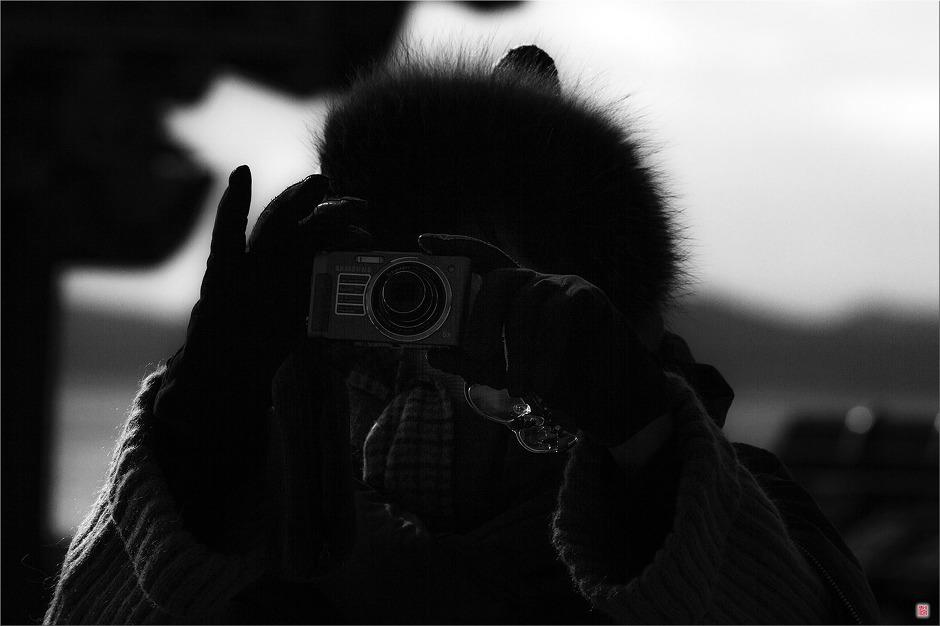 [Canon7D] 실루엣_사진찍는 여인