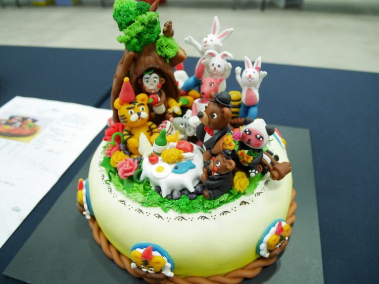 푸드아트 케이크 공예
