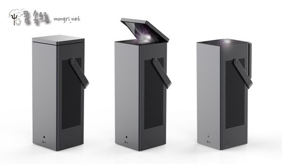 LG전자 빔프로젝터 시네빔 레이저 4K HU80KA
